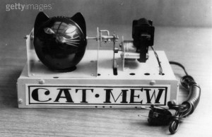 Cat mew machine