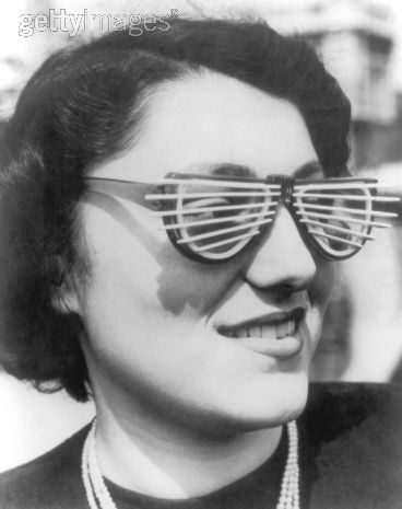 Venetian Blind Sunglasses, 1950